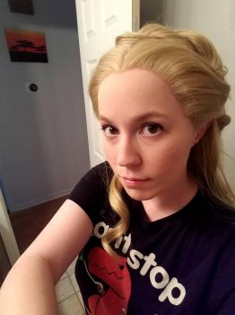 Cinderella 2015 wig and makeup test by Luraia