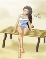 Comission - Maria Jose Relax by Shinta-Girl