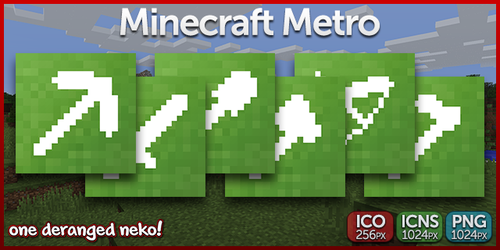 Icons- Minecraft Metro by KaizenNeko