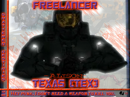 Red vs Blue Tex: TFSD fan BG by Jetta-Windstar