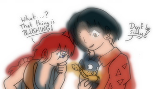 What's with the pig? by Shauni-chan