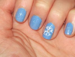 Winter Nails by yellow-tulips