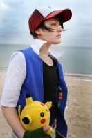 Ash Ketchum - Gazing ahead by Sowah