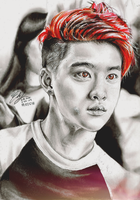 Mystic Eyes Kyungsoo by FreedomforGoku