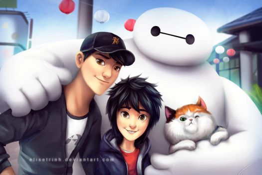 Family Portrait by elisetrinh