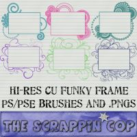 Funky Frame Brushes by debh945