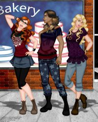 REVERSE COLLAB: The 'L' Girls by erin-hime