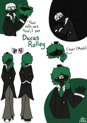 [Casino Gang]-Ducas Rolley by HerrenLovesFNAF