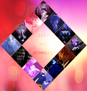 2017 Art Summary by YuukineKA