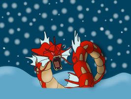 Shiny Gyarados by jomy10