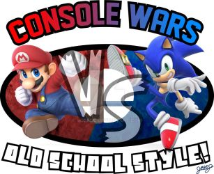 Console Wars! Old School Style!! by JoseGS