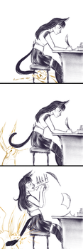 FFXIV: Carbuncle Tails by FlockofFlamingos