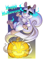 Spirit O' Halloween YCH - Secret by Mdragonflame