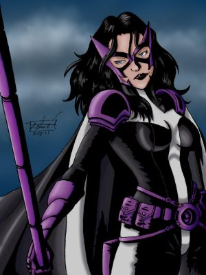 Huntress at Night by StineTheKitty