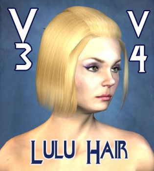 Lulu Hair for V3 and  V4 by mylochka