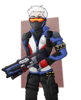 solider 76 by ozcrystal