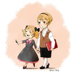 Young Leo and Elise by Marianne24