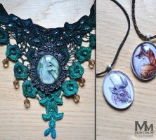 Mythical Necklaces by jessburnett