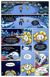 Flowey Is Not a Good Life Coach - Chap. 1, page 1 by fluffySlipper