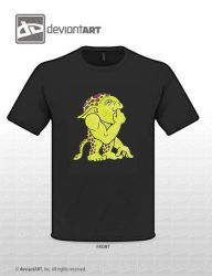 Mott T-shirt Front Only by MonstersUnbound