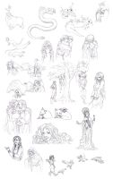 Heart Of The Earth Sketches 05 by Toradh