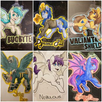 BABScon 2018 Commission set 1 by Twisted-Sketch
