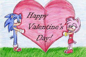 Happy V-Day-Sonamy by Sonikku2005