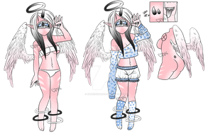 Xynthii: Sweet Angel: Adopt: CLOSED by ObsceneBarbie