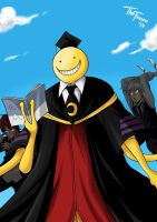 Assassination Classroom by TheFresco