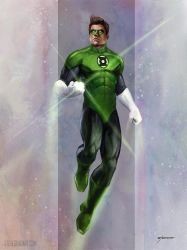 Green Lantern by stevegoad