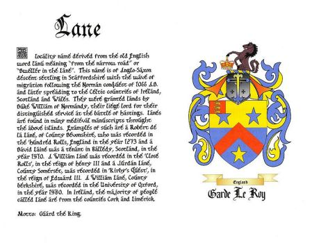 Lane Coat of Arms by jdlr64