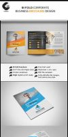 4 pages corporate brochure by Cristalpioneer