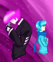 Mystery skulls - Lewis and Vivi by licra
