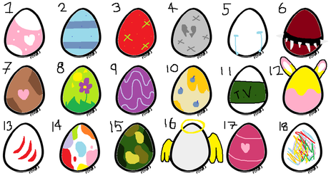 Egg adopts 1! [AUCTION OPEN!] by LazyLatiasG