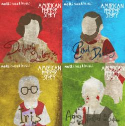 AHS - Kathy Bates - Cruel Fate by nottisweettoothi