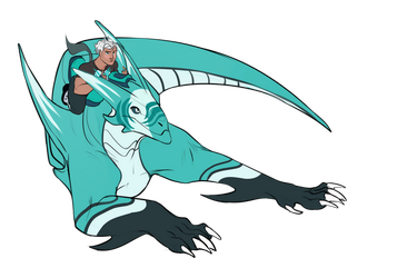 [Dragon Booster RP group contest winner]  Kord by wanlingnic