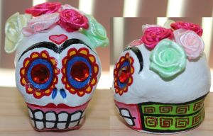 Frida Kahlo skull 44 by angelacapel