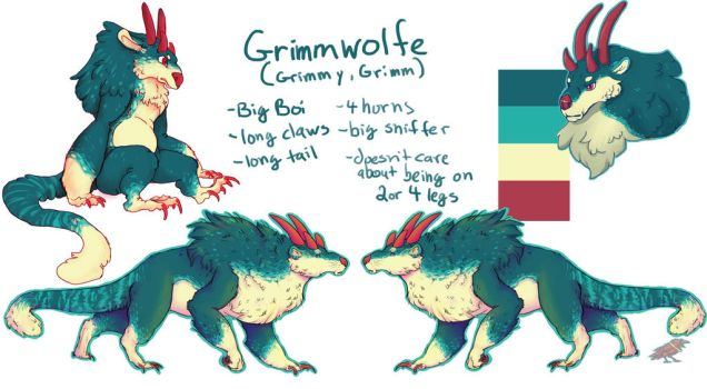 Grimmy Ref by Mayzie11