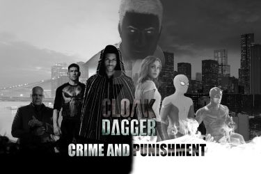 Cloak and Dagger Crime and Punishment by Justiceavenger