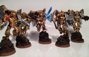 Sanguinary Guards by McPanny