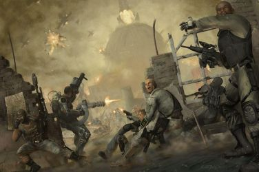 Behind Enemy Lines by graver13