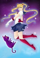 Sailor Moon by Nathaldron