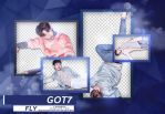 GOT7 FLY HQ PNG RENDER PACK by AbouthRandyOrton