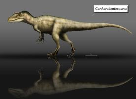 Carcharodontosaurus updated by unlobogris