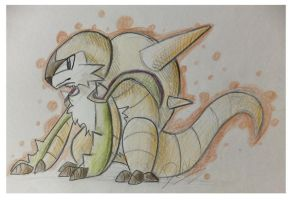 Traditional Sketch: Chesnaught