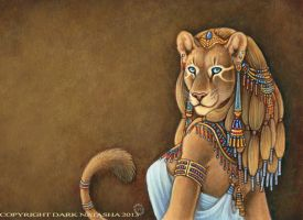 Sekhmet by darknatasha