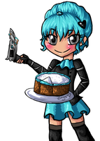 Cutting Some Cake by Crysums