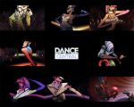 Dance Central dancers by MrJechgo