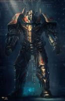 From another age - Concept10 - COLOSSUS T-13S by Shue13