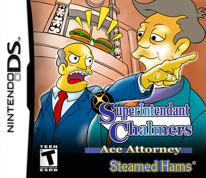 Superintendant Chalmers, Ace Attorney by Doartdesigns